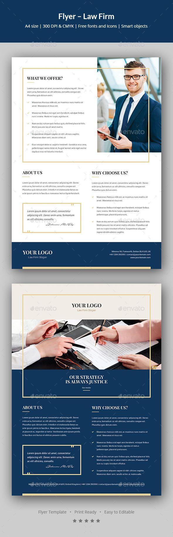 Flyer u2013 Law Firm Flyer u2013 Law