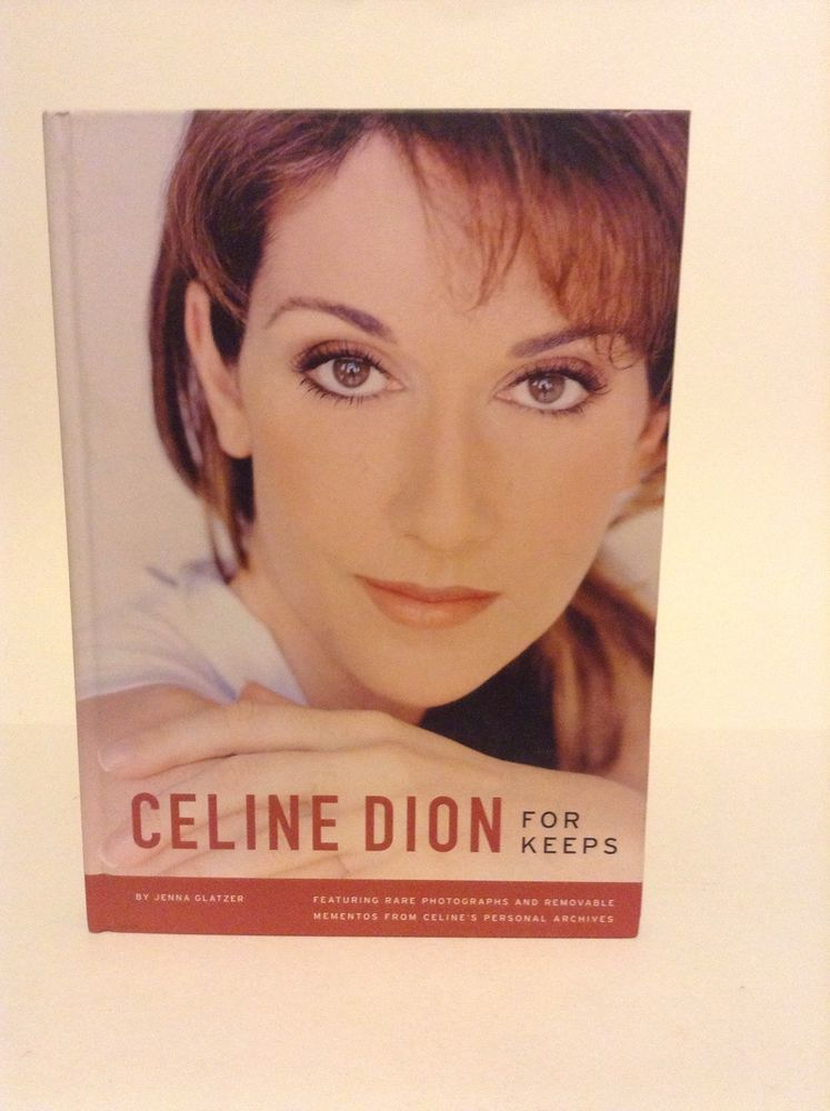 Preowned Celine Dion For Keeps Hardcover Entertainment Biography Book Singer