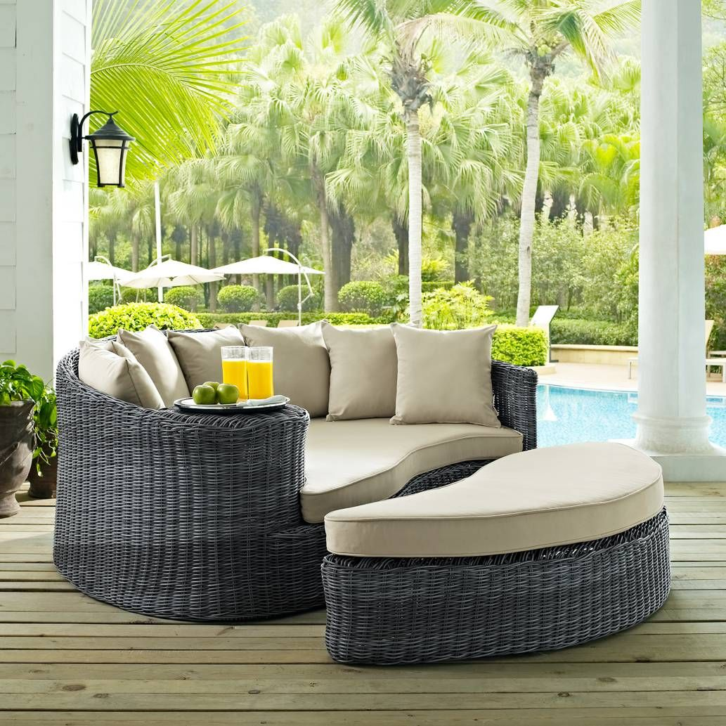 Dune chaise lounge with sunbrella taupe cushion in dune collection crate and barrel backyard pinterest chaise sofa cushions and patio lounge