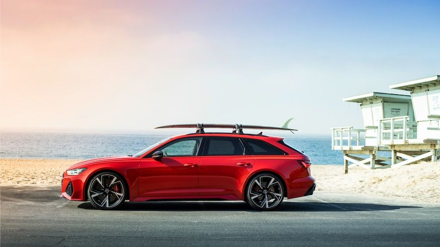 2021 Audi RS6 Avant First Drive Review Truly a Super