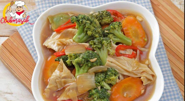 Resep Cah Brokoli Kembang Tahu Resep Masakan Sehari Hari Dirumah Club Masak Resep Masakan Brokoli Resep