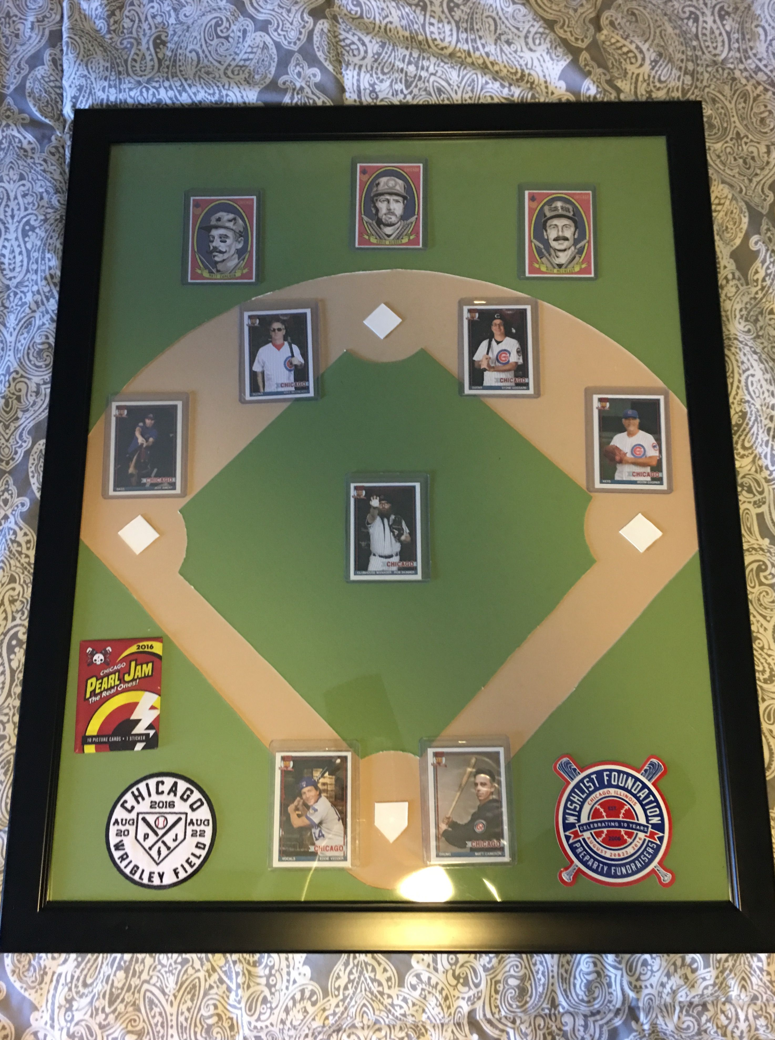 Some picture mat and a frame made into an expensive