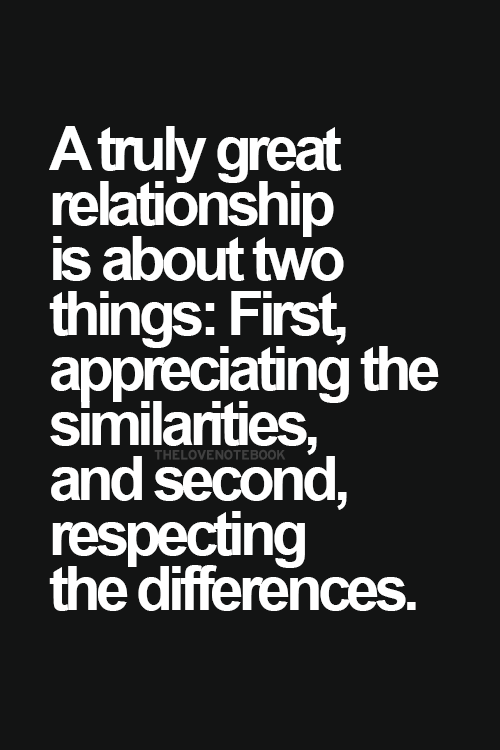 I appreciate and respect everything about you.  143MBS