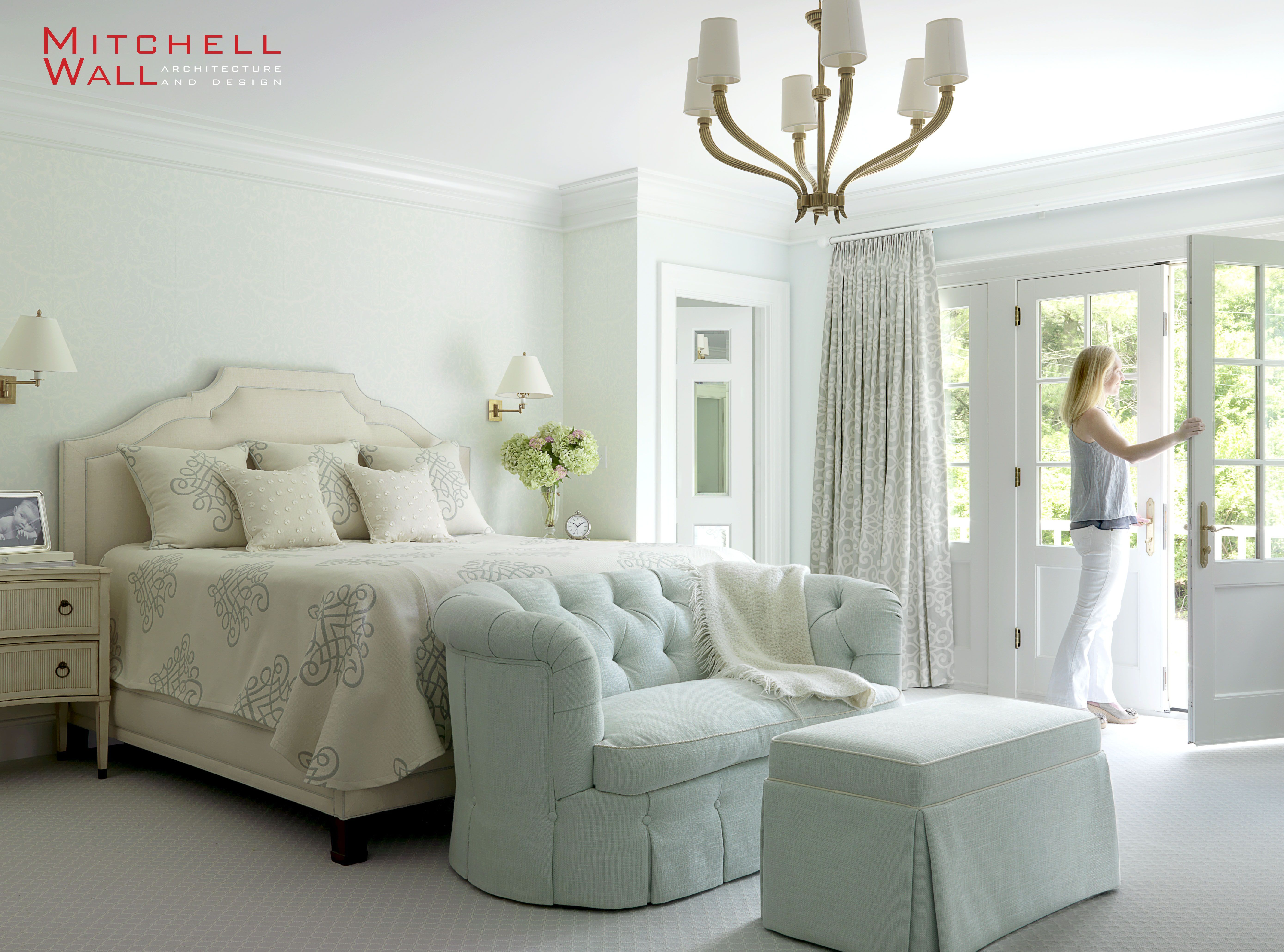 ladue house the master suite includes a private sitting room with rh pinterest com