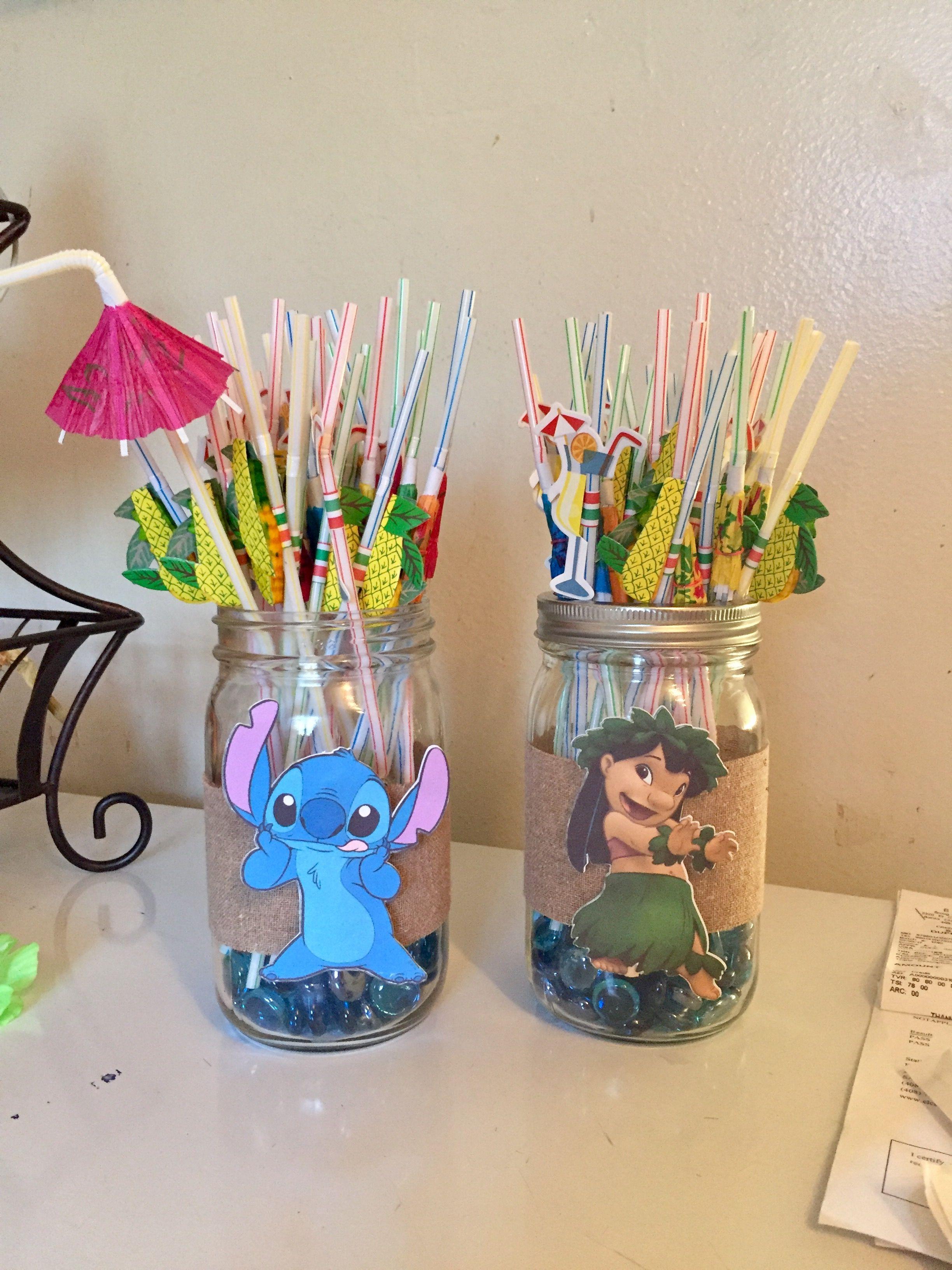 Luaulilo And Stitch Party Emmas 1st Lilo Stitch Pinterest