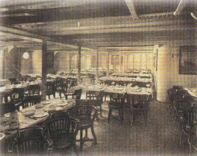 Lovely 3rd Class Dining Room. Of The Titanic