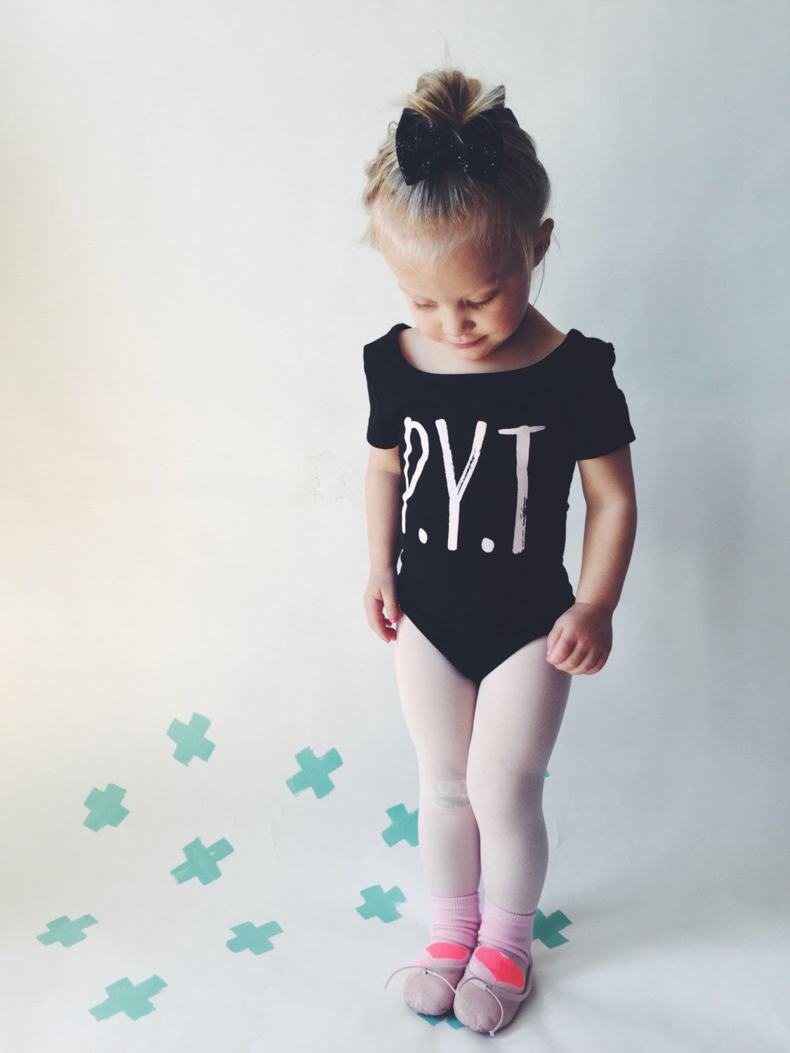 04bac59c8 TODDLER LEOTARD - P.Y.T - Black Girls Leotard