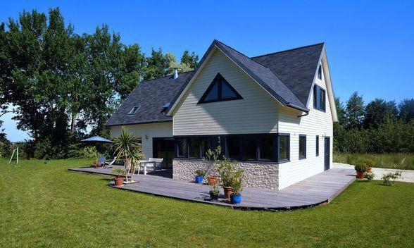 construction sept solutions pour implanter sa maison sur un terrain - Implantation Maison Sur Terrain En Pente
