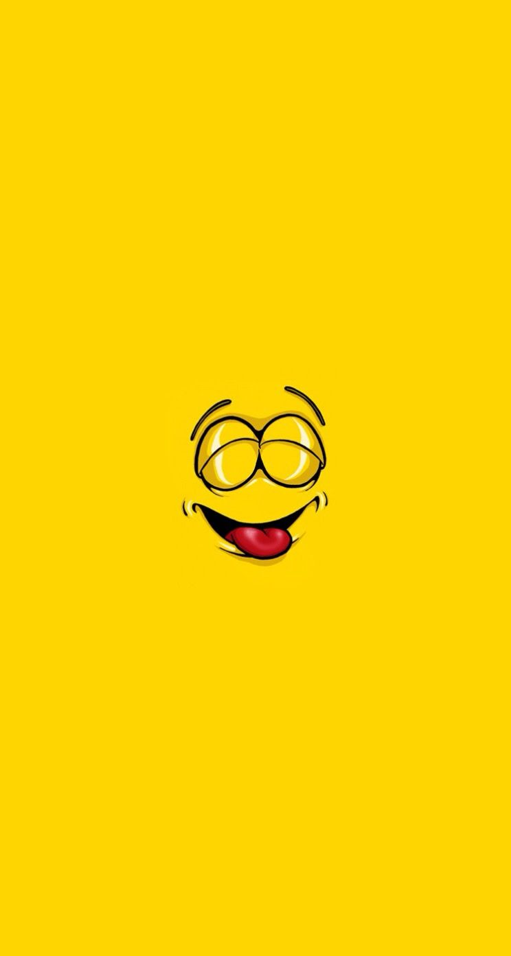 smiley faces - simple cartoon iphone wallpapers @ mobile9