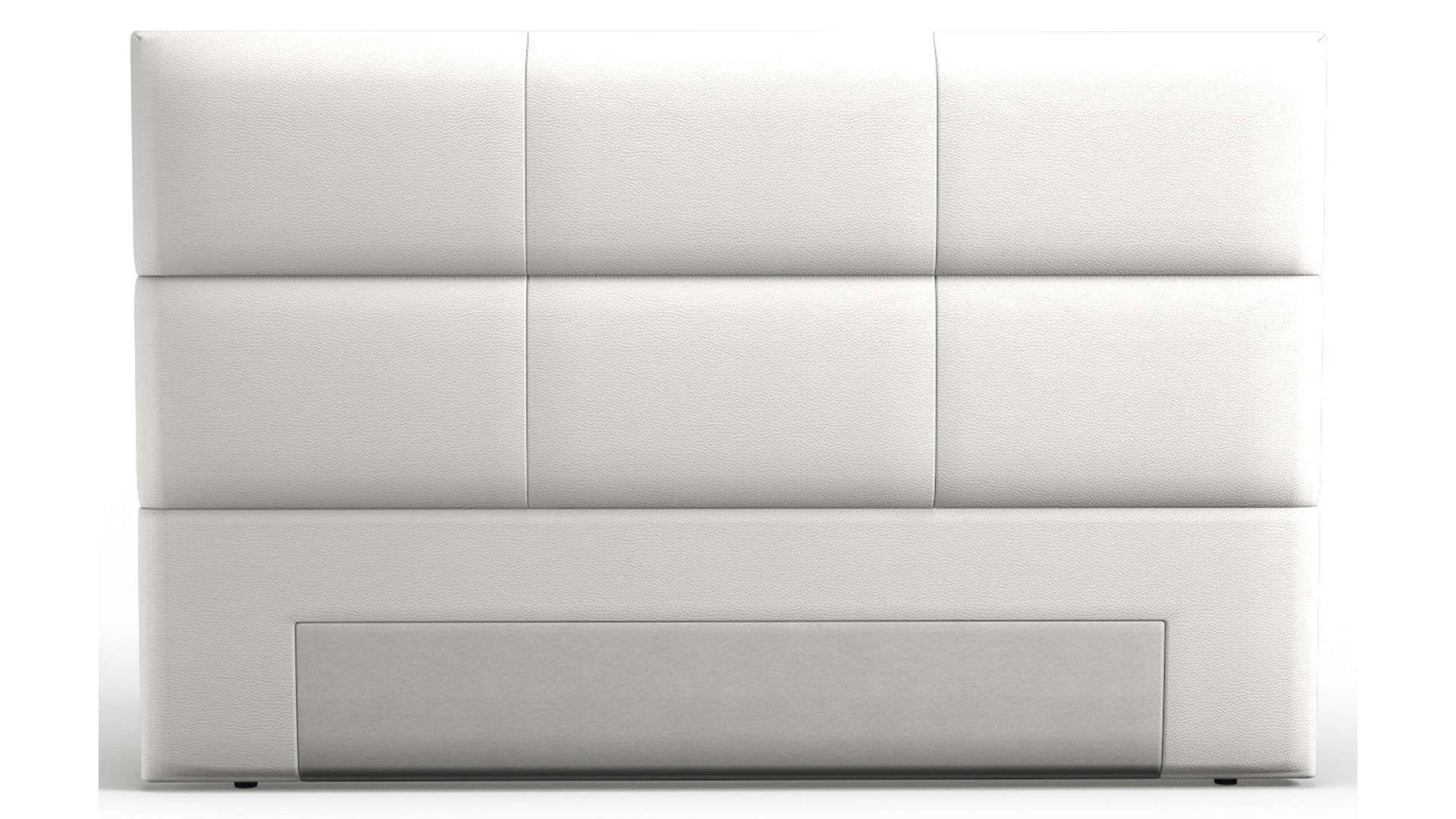Tete De Lit 185 Cm Warren Coloris Blanc Lit Conforama Et Blanc