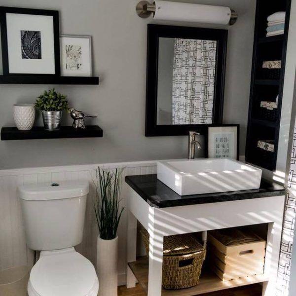 Hermosas ideas para decorar tu ba o moderno y elegante mueblas y decoraci n - Como decorar un bano pequeno moderno ...
