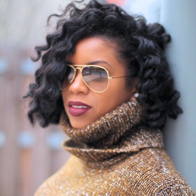 Cute Short Hair Braid Styles : Trendy ganchillo trenzas para las mujeres negras crochet braid