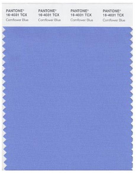Pantone Cornflower Blue