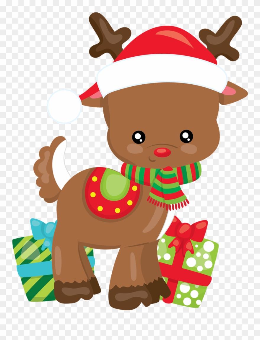 Reno Navidad Dibujos Animados Navidad Clipart Tarjetas Navidad Clipart Navidad Animado Dibujo De Navidad