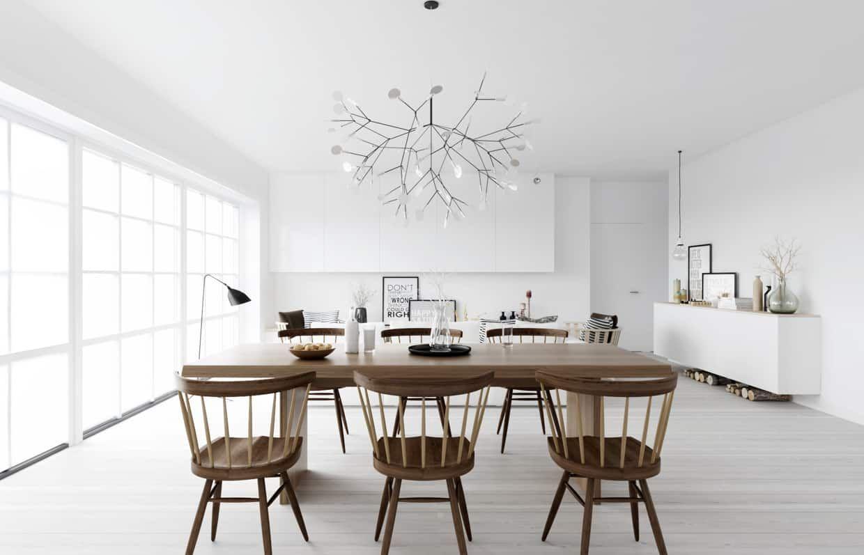 Interior Design Trends 2021 Modern Scandinavian Dining Room Design 2021 Scandinavian Dining Room Dining Room Trends Luxury Dining Room
