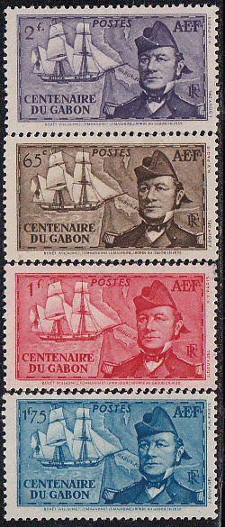 Africe francés Ecuatorial *74-77 MH - bidStart (artículo 46238416 en Sellos, África, Gabón)