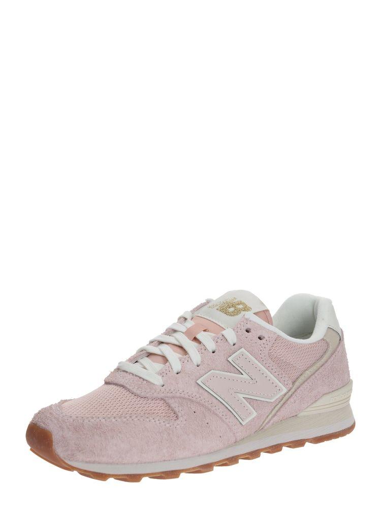 New Balance Sneaker 'WL996 B' Damen, Beige / Rosa, Größe 39 ...