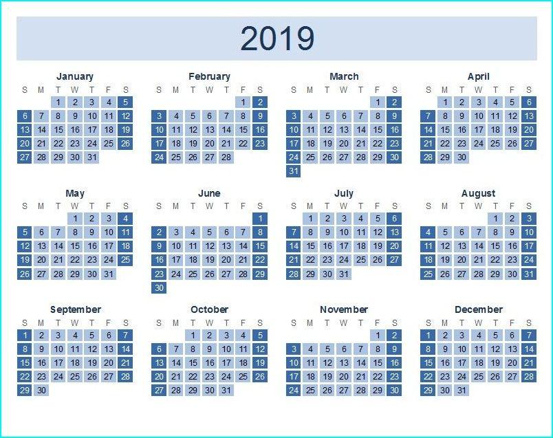 free printable calendar 2019 yearly top 10 free 2019 calendar rh pinterest com