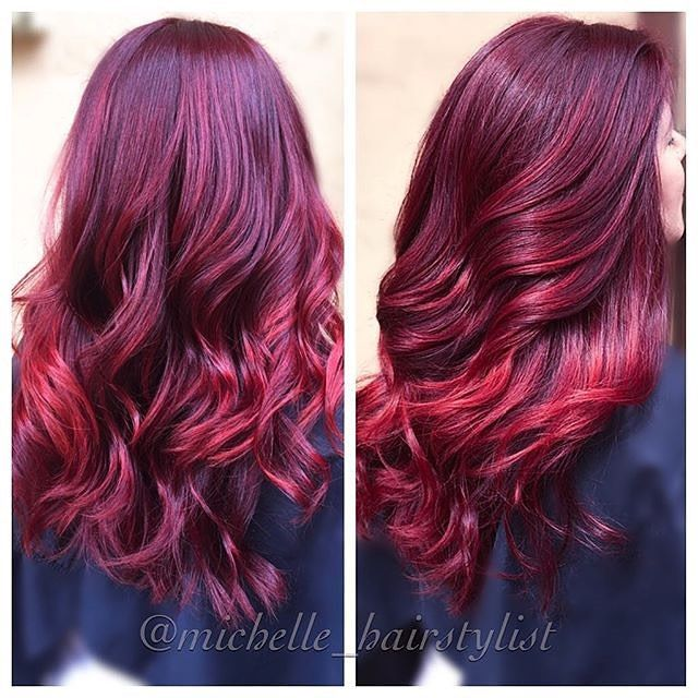 matrix sored color chart: Oh my this color is sweeter than cherry pie matrixhair