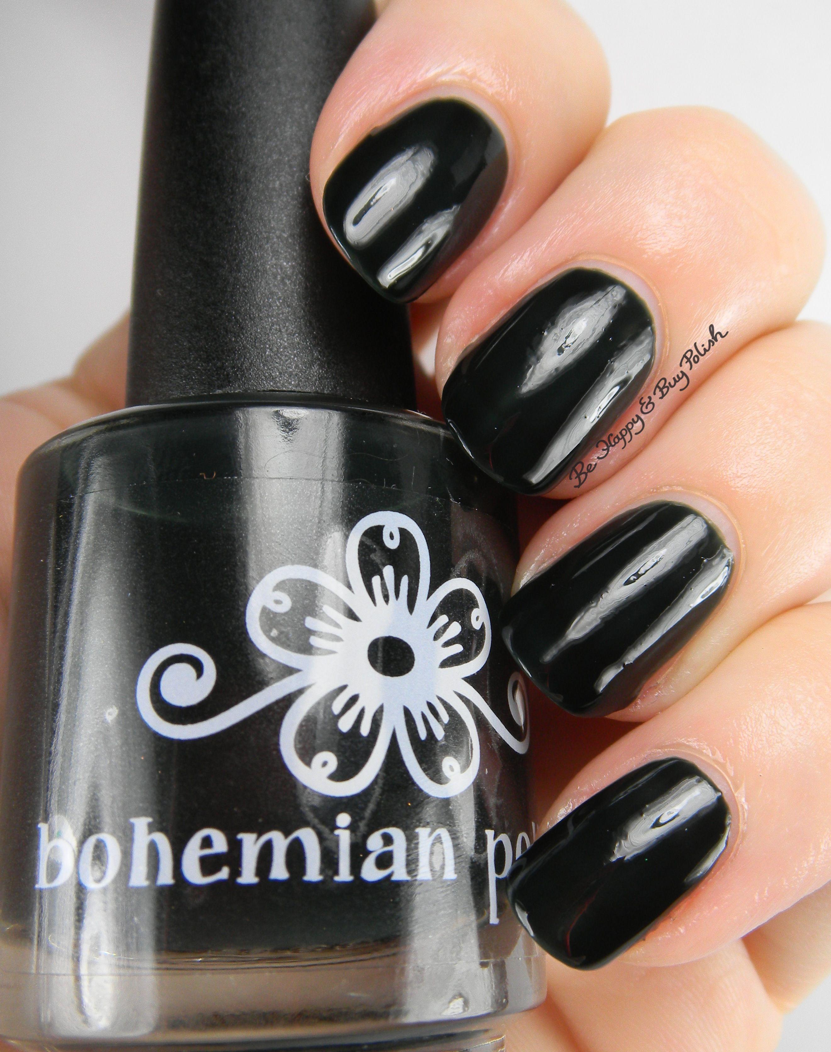 Bohemian Polish Adirondack Winter Collection Swatch and
