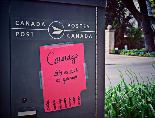 Choose Courage, Not Cowardice