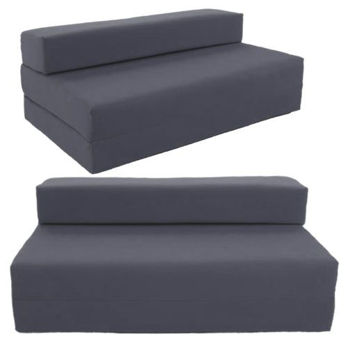 Block Filled Fold Up Sofa Bed Z Guest Foam Futon Mattress In Outdoor Gilda And House