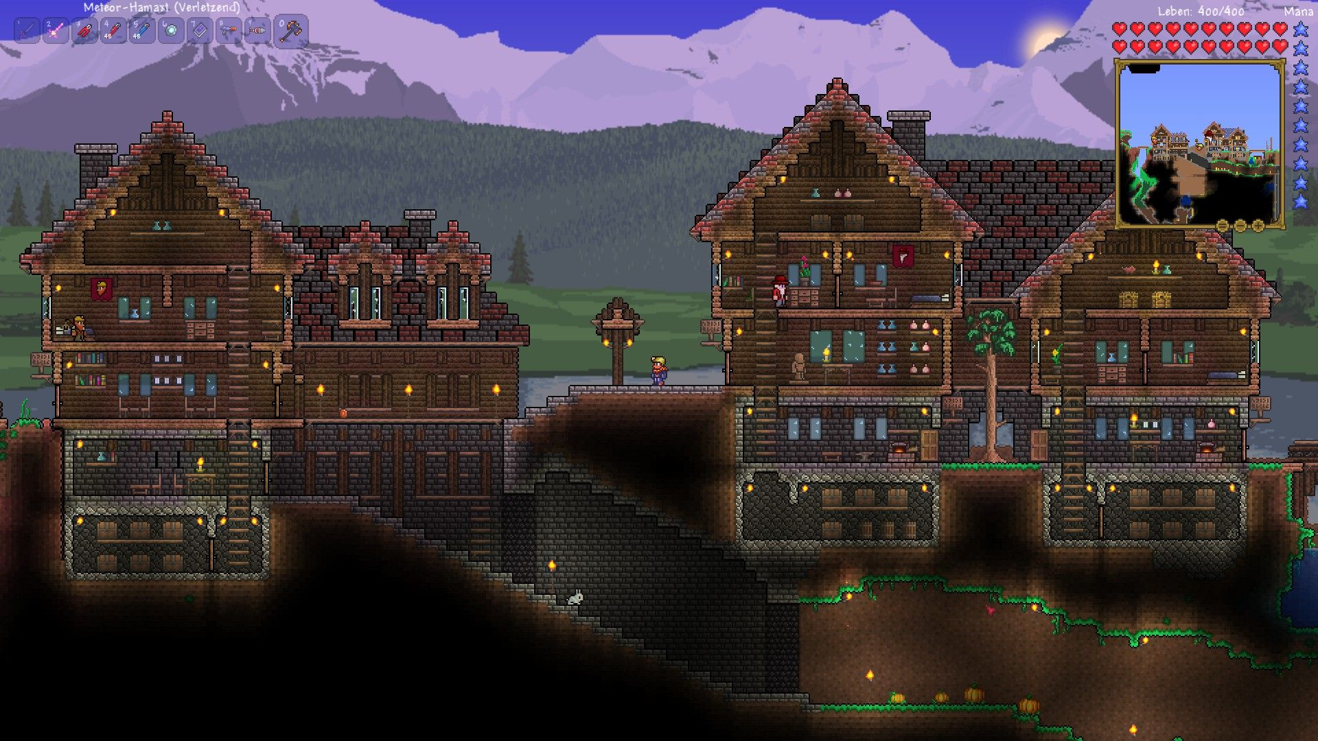 Img terarria pinterest terraria gaming and video for Terraria house designs