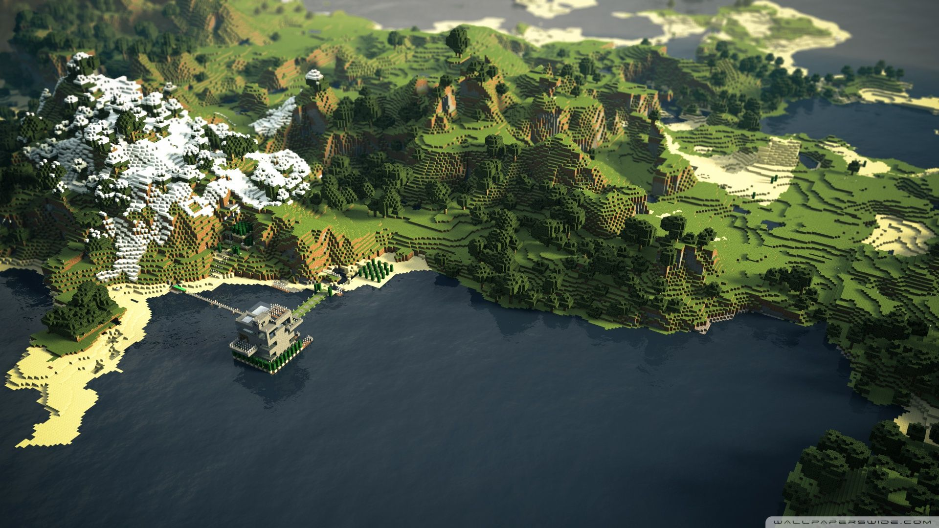 Collection Of Amazing Minecraft Backgrounds On HDWallpapers Free Wallpapers