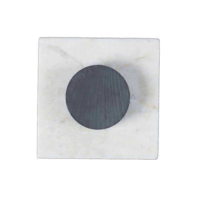 Multicolored Hearts Stone Magnet