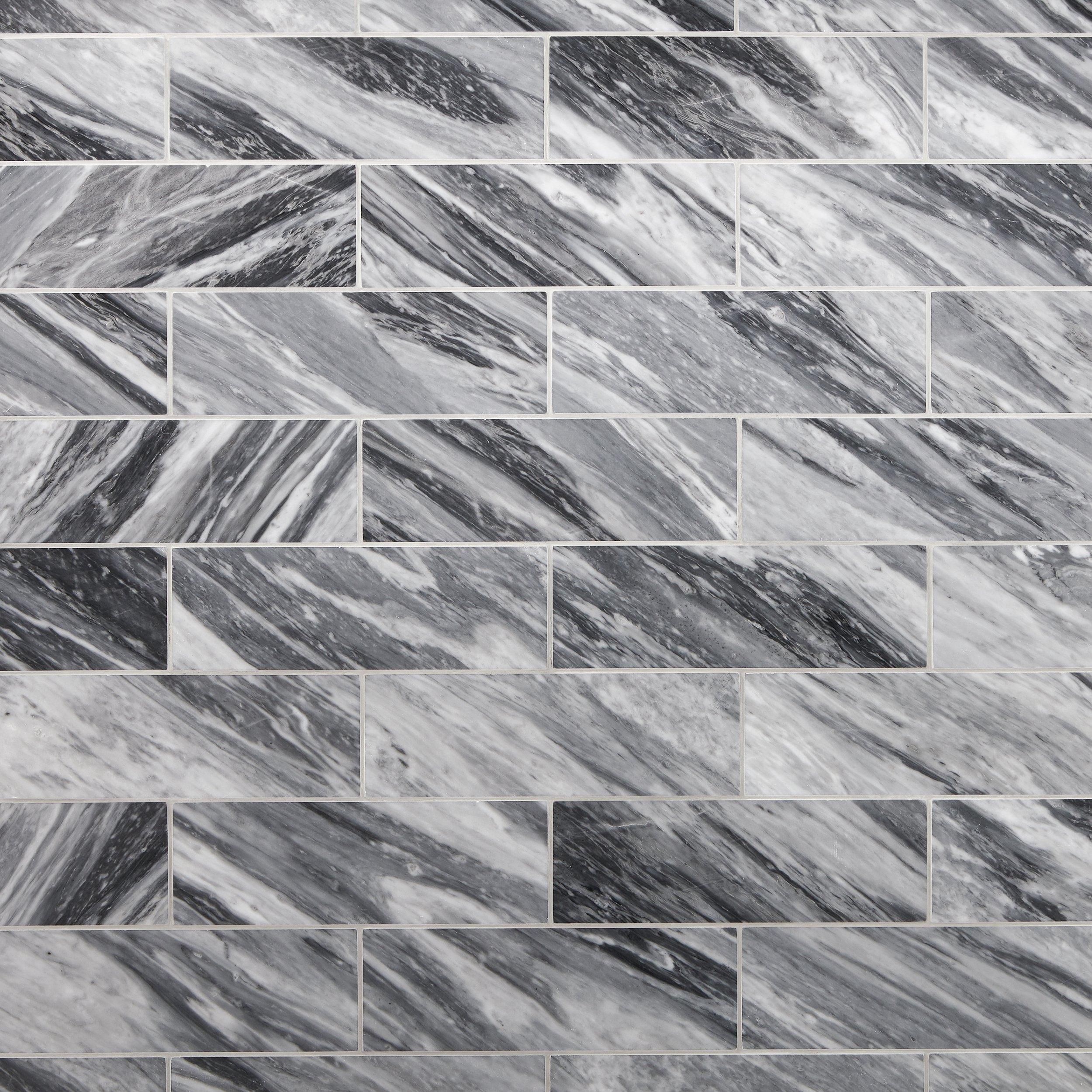 Bardiglio Polished Marble Tile Polished Marble Tiles Polished Porcelain Tiles Stone Tile Flooring