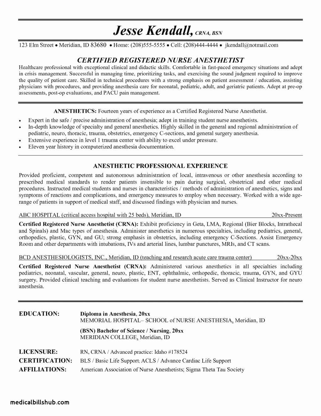 20 Entry Level Registered Nurse Resume in 2020