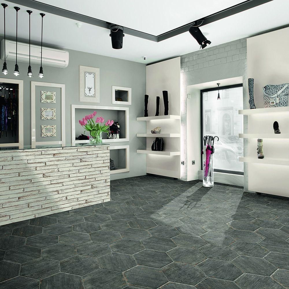 Merola Tile Retro Hex Cendra 14 1 X2f 8 In X 16 1 X2f 4 In Porcelain Floor And Wall Tile 10 76 Sq Ft X Flooring Floor And Wall Tile Porcelain Flooring