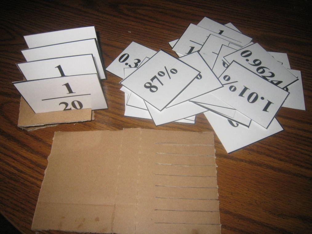 Racko Middle School Math Pinterest Percents Math And School