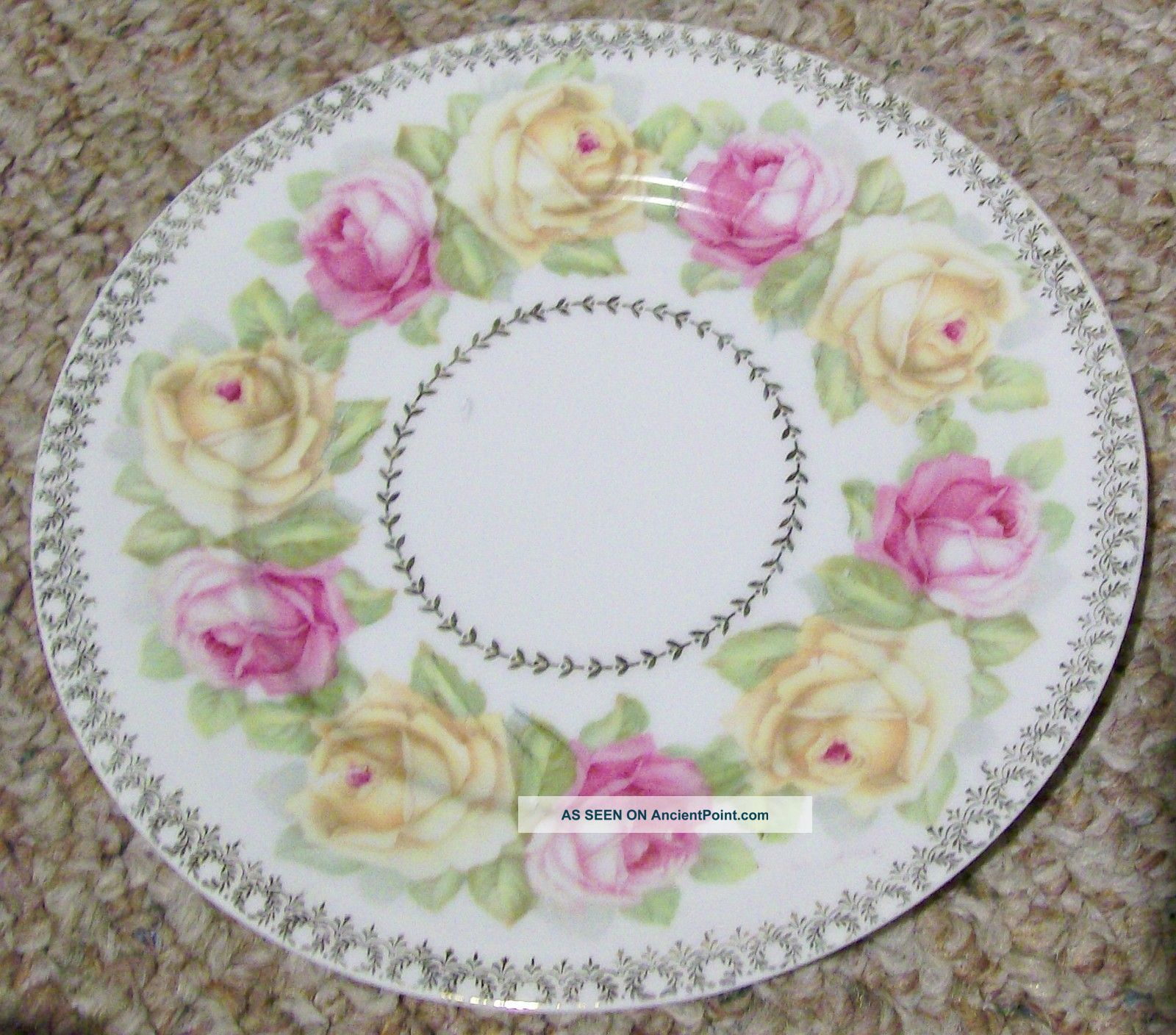 Porcelain Decorative Plate Z S Co Bavaria Old Plates u0026 Chargers : decorative plate chargers - pezcame.com