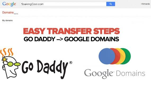 How To Transfer A Domain From Godaddy To Google Domains Easy Peasy Https Www Soakingcool Com Transfer Godaddy To Googledom Google Domains Easy Peasy Easy