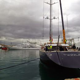 S/Y Twizzle is currently in the Med undergoing a complete ocerhaul, re-painting and it's 5 year Lloyds Survey, ready for Med cruising in March 2015. Our RSB rigging team are also hard at work making sure she's ready. http://rsb-rigging.com/
