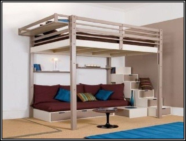 Ikea adult loft beds google search belgium bedroom - Small beds for adults ...