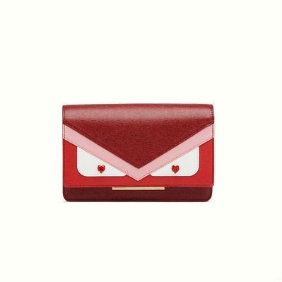 7f4d312e7165 Fendi Tube wallet on chain part of the Fendi Loves capsule collection to celebrate  Valentine s day.