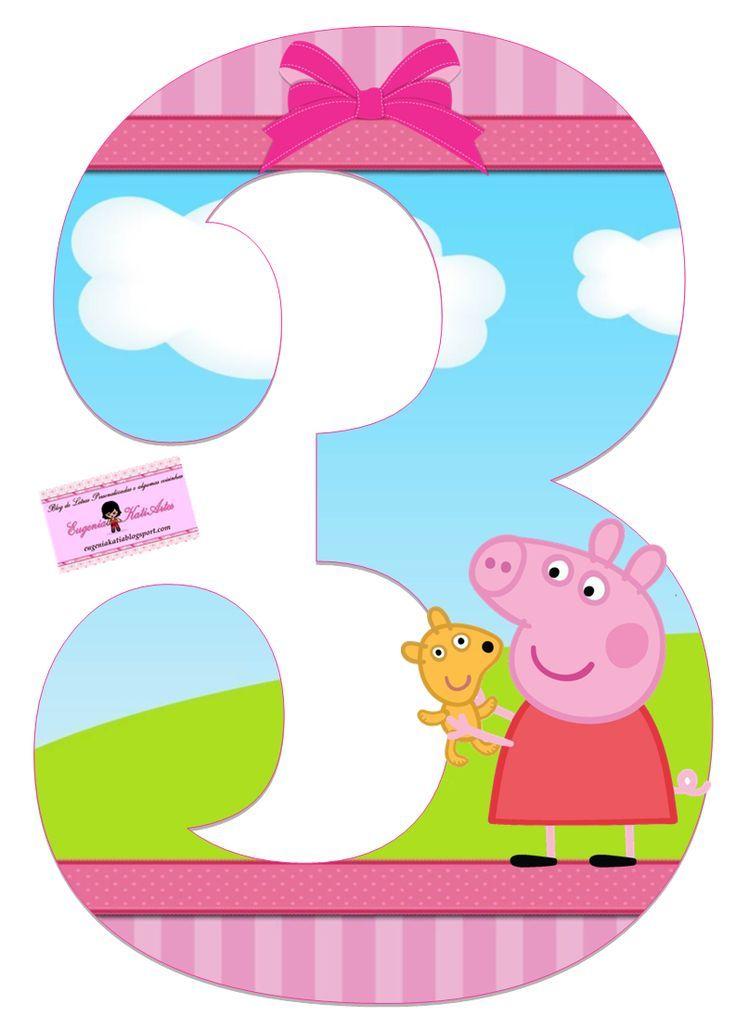 Pin de Jatnna Fernandez en Peppa Pig bday  Pig birthday