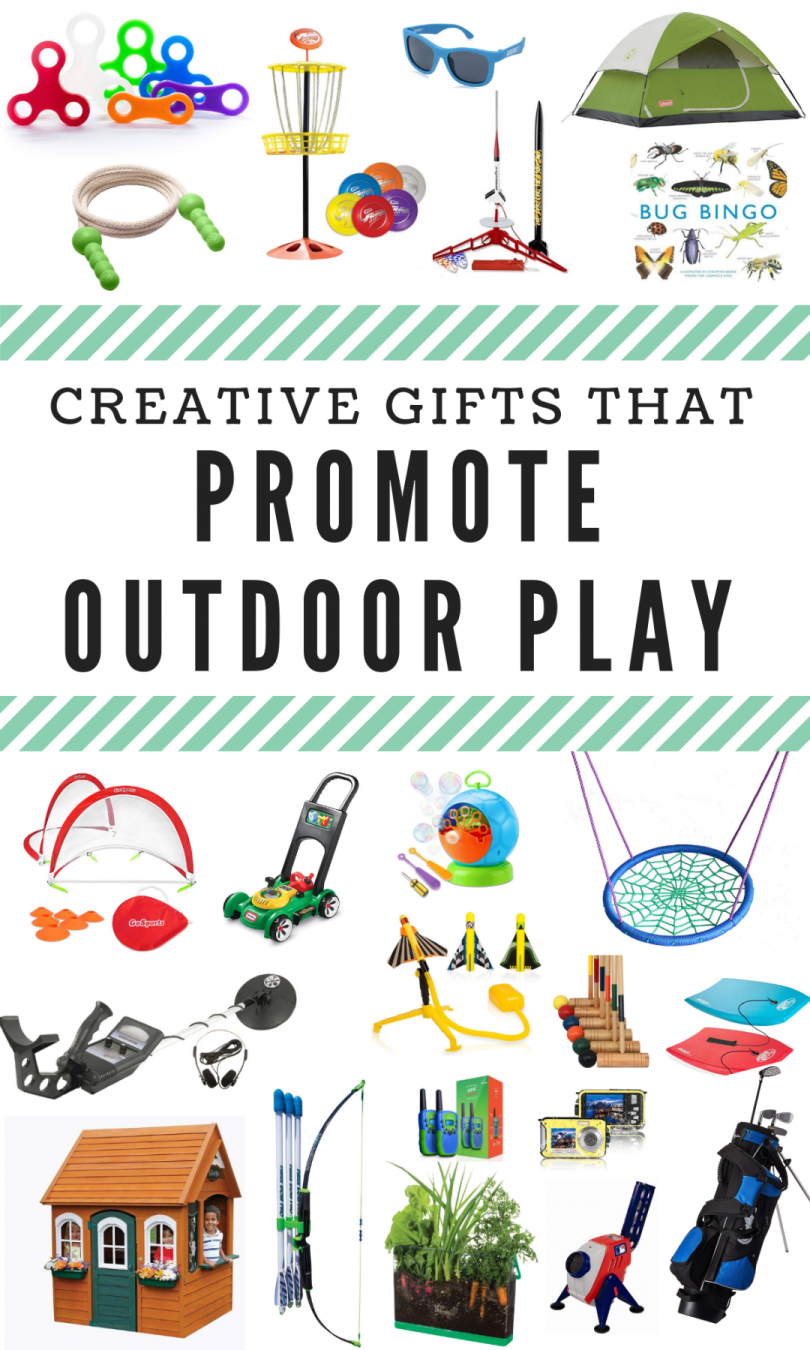 Creative Gifts That Promote Outdoor Play Run Wild My Child Unique Gifts For Kids Outdoor Gifts For Kids Outdoor Toys For Kids