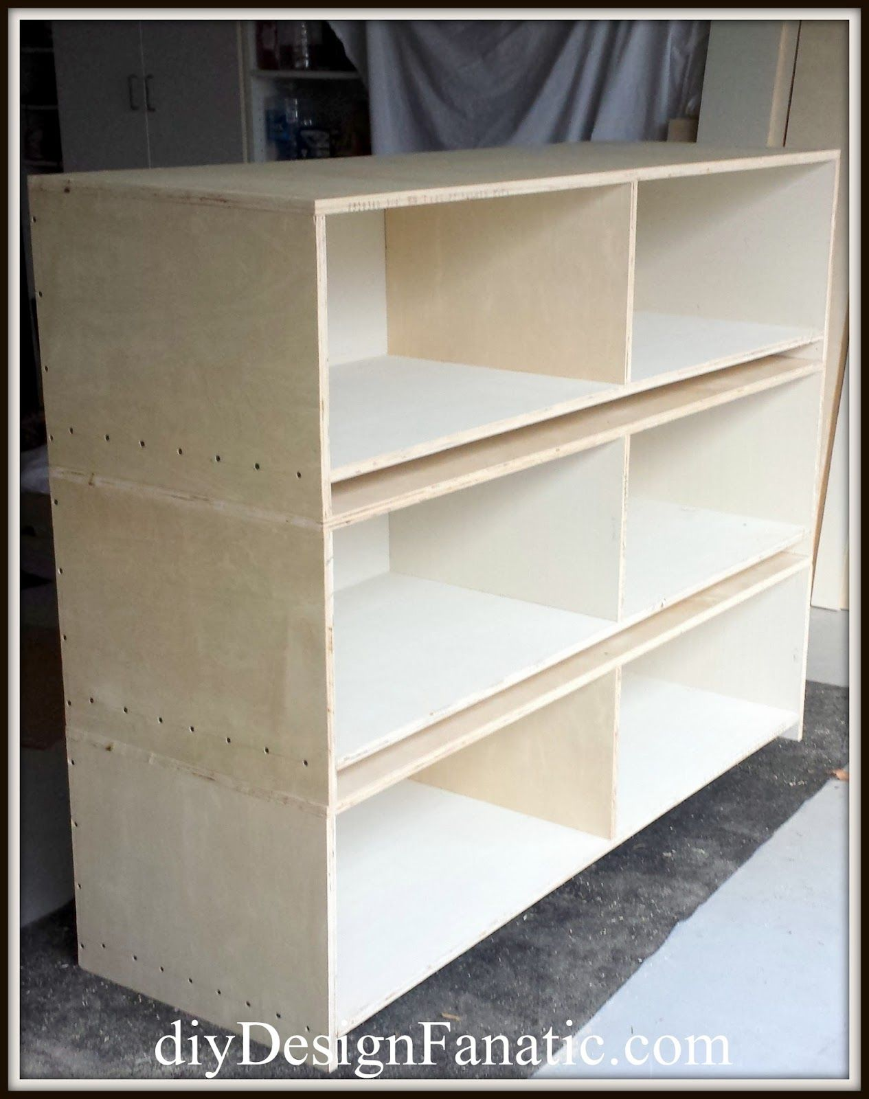 Pottery Barn Knockoff Storage Bed Contemporary home