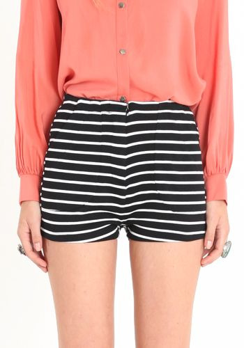 cute stripe shorts!