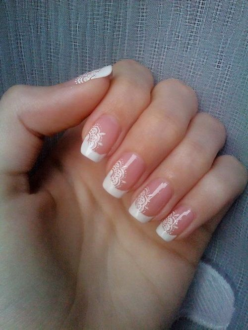 French Tip Nail Designs Tumblr French Nail Designs 2014