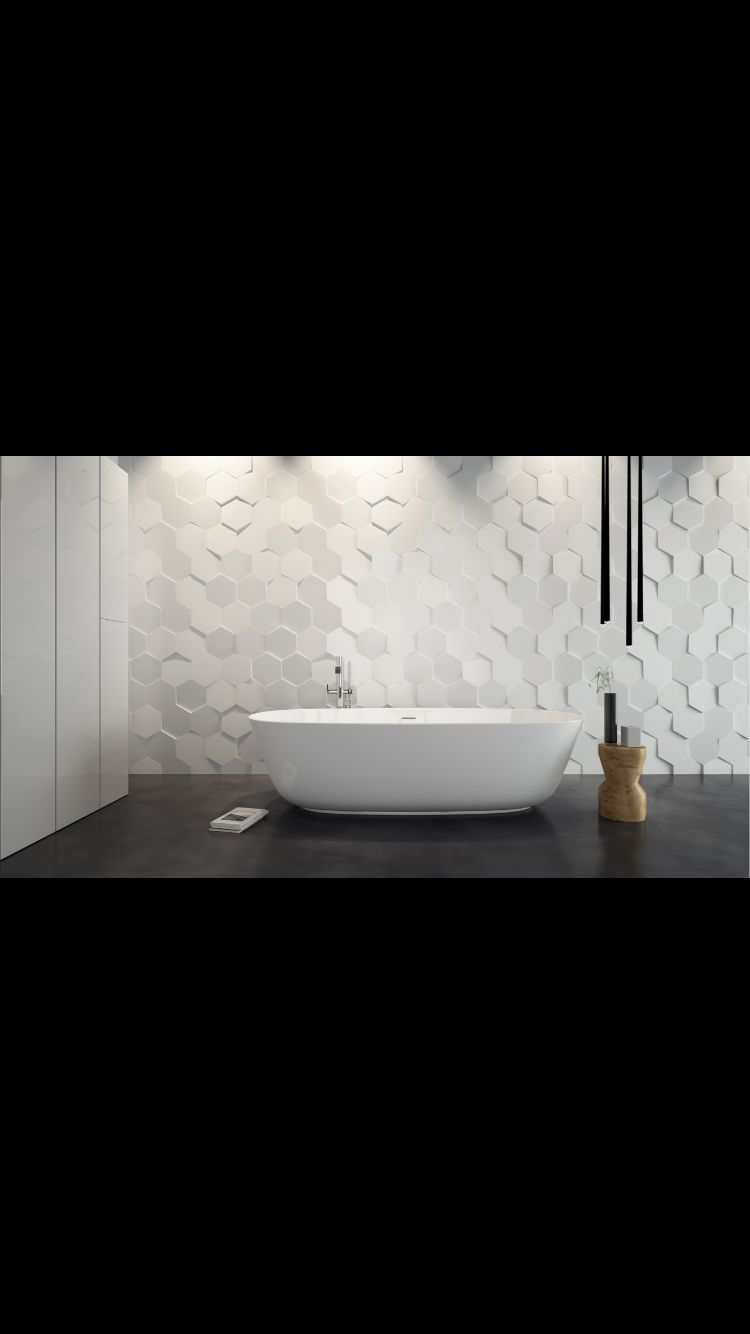 Carrelage decoratif aspect 3d disponible chez mattout for Carrelage salle de bain 3d