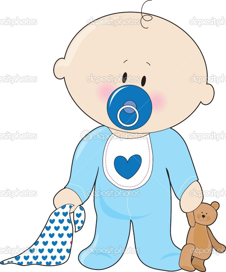 15+ Animated Baby Boy Clipart