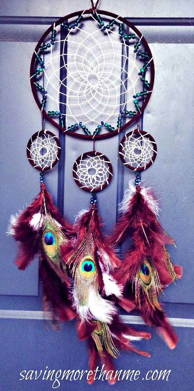 diy dreamcatcher ideas instructions inspiration attrape r ves attrape r ve fabriquer un. Black Bedroom Furniture Sets. Home Design Ideas