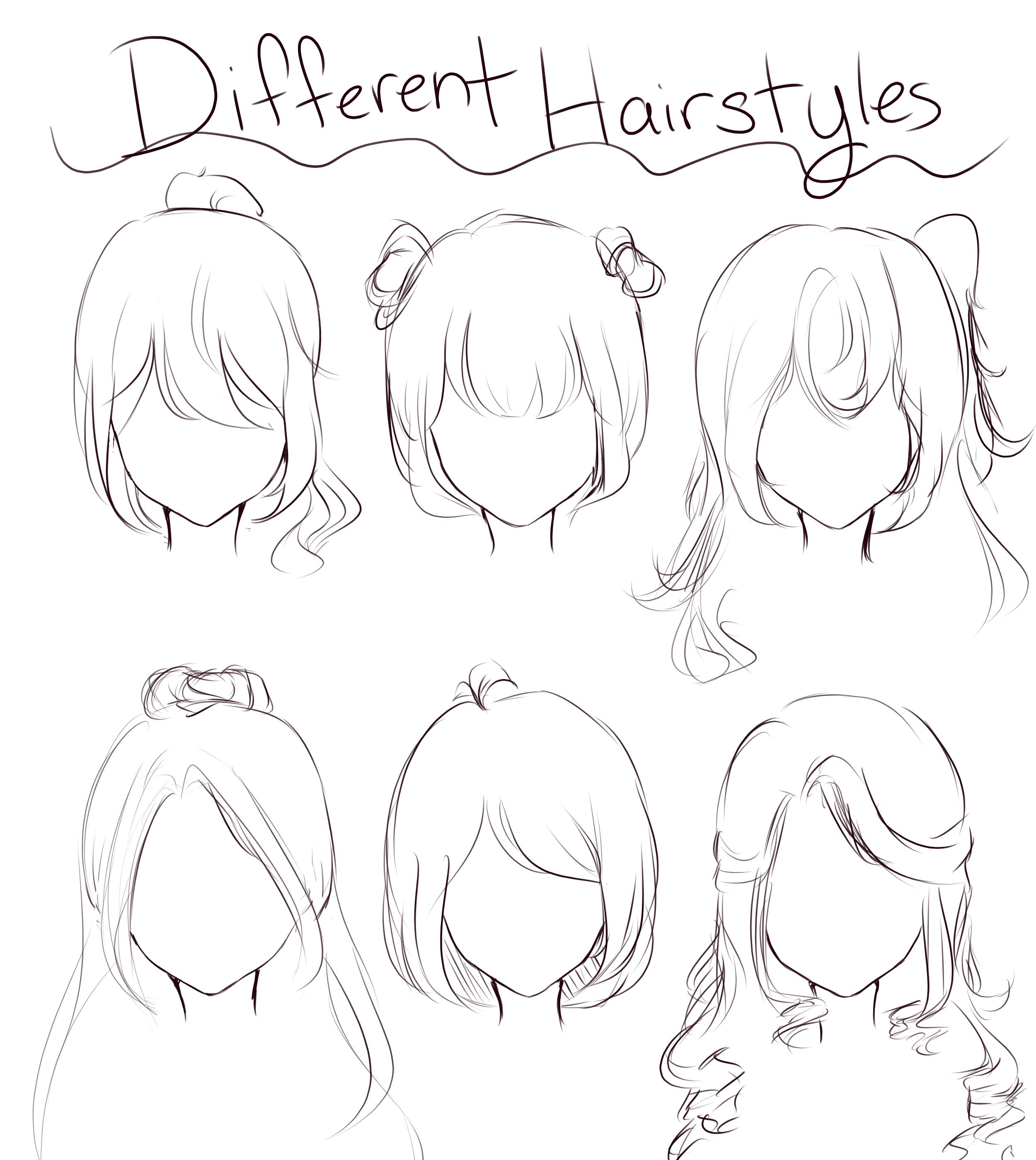 Photo of Hairrrr #drawings #drawinghair