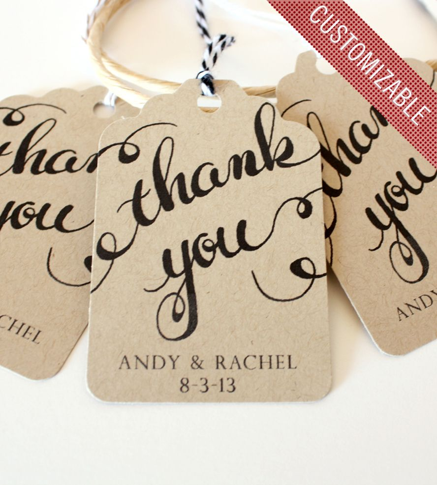 Custom Thank You Handwritten Calligraphy Tag | Handwriting, Letters ...