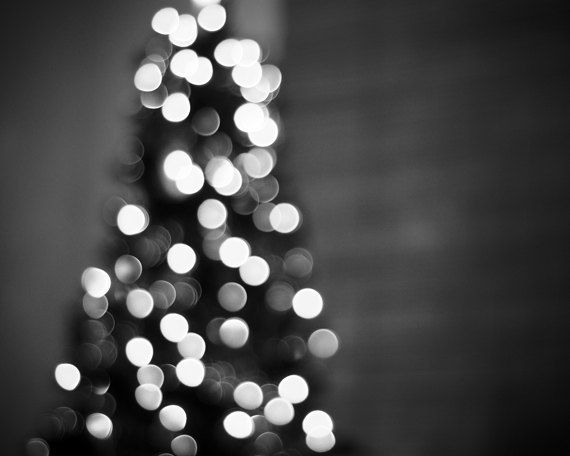 Black And White Christmas Photography