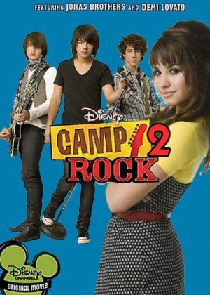 Poster For Camp Rock 2 Old Disney Channel Movies Disney Channel Movies Camp Rock